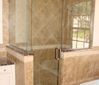 90 Degree Header/Piviot Shower Enclosure