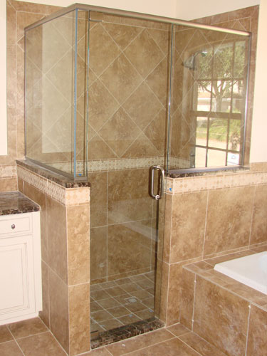 By-Pass and Semi Framed Shower Doors Enclosures by Emergency Glass ...