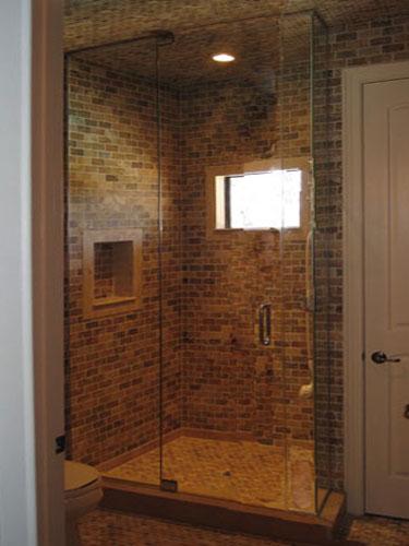 90 Degree Floor To Ceiling Shower Door